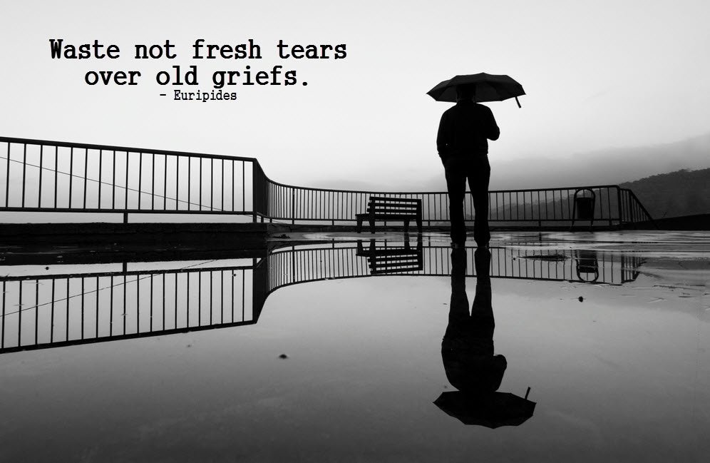 It's a new day! Be happy for a fresh start!  Waste not fresh tears over old griefs.  #quote #inspire https://t.co/Y9PWzEnp6x