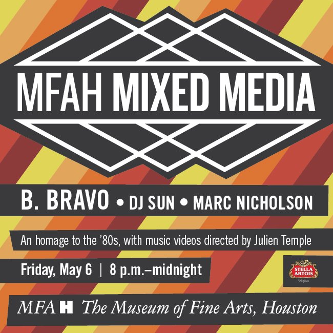 #MFAHMIXEDMEDIA GIVEAWAY: Retweet to enter to win 2 tickets to this Friday's party! https://t.co/IWxOlKVI1N https://t.co/onxJG05MTE