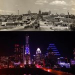 #Austin: 1930 | 2016. Downtown and #Congress. /First photo: from Austin Public Library! Second: mine. ☺️#atx❤️ https://t.co/g8Ne6RQdVD