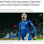 BREAKING: Jamie Vardy is LITERALLY having a party! https://t.co/V6c6DM8d8b