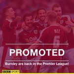 FT Burnley 1-0 QPR Guess whos back? Burnley will play in the Premier League next season! https://t.co/pGtutCaqXc https://t.co/FaWBVjRfSr
