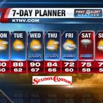 Good Morning Las #Vegas! Heres what were expecting for the coming week! #NVwx #GMLV https://t.co/jNOVD7qWLa