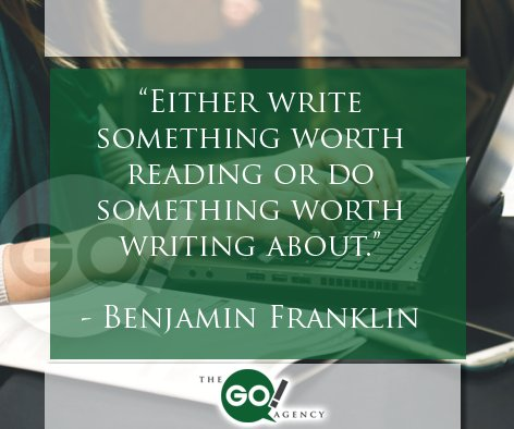 """Either write something worth reading or do something..."" Benjamin Franklin #QOTD #MotivationalQuotes https://t.co/Z2mLxcKpKd"
