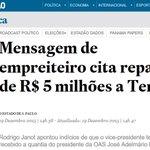 Brasil, prepare-se para seu novo Presidente e novo Vice. Vomitar faz parte. Lutar sempre. https://t.co/1ZsMQlDUVe