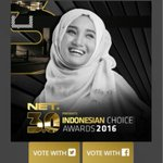 I Vote @FatinSL for Female Singer of the Year Indonesian Choice Awards 2016 #ICA_3 #FS_Fatin https://t.co/RNzB0qV0Eo
