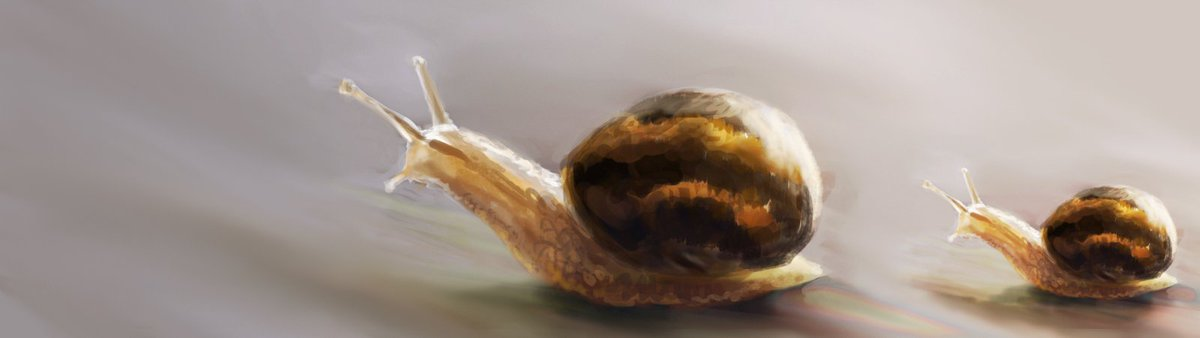 A racing snail? My favorite poem in the world is about two snails... https://t.co/VjL7MAeyRl https://t.co/huv8Dcb8r2