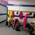 El Juvenil A, a minutos de la la eliminatoria de Copa de Campeones ante el @VillarrealCF. A las 16.00 h en #UDRadio https://t.co/jgNWozdN47