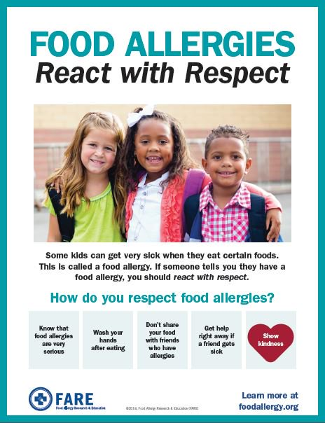 Take a moment today to print copies of our #FoodAllergyWeek posters for kids and teens: https://t.co/7SKKjjPq0X https://t.co/1ICiZ4IkUF
