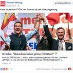 Mit den Geldern von Regierungs-Inseraten kauft die Krone u.a. Werbung für Strache bei Facebook. https://t.co/3DtZe2hGJu