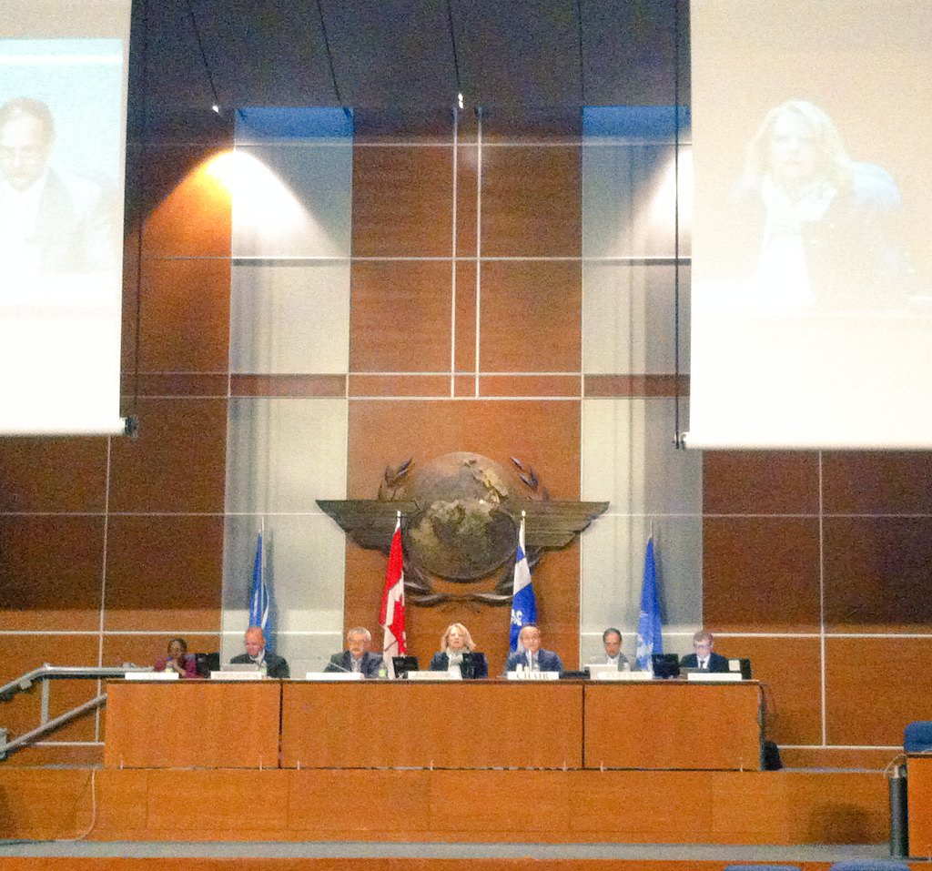 RT @CBDNews: SBI1 has just opened at @ICAO HQ. Read the annotated agenda here: