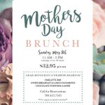 Reserve your tables now for mother's day brunch! Limited seats available! @GrazeEdmonton #yegfood https://t.co/ullZK1BCdC