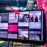.@dillinger4010 @deutschetelekom und gleich mal die #telekomwall auf den Bildschirm gebracht. :D #rpTEN #republica https://t.co/1sK3V7J6We
