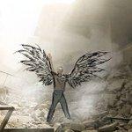صورلطالبة اردنية من طلاب هندسة العمارة /مايا عامر أوحت لها صورمعاناة المدنيين بمدينة حلب بهذه التصاميم #حلب #سوريا https://t.co/vdWZyhyC0u