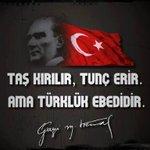 Doğuşumdaki tek olağanüstülük TÜRK olarak dünyaya gelmemdir.. Başbuğ Mustafa Kemal ATATÜRK #TürkçülerinGünü3Mayıs https://t.co/Sk4GeEpJlc