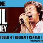 Paul McCartney to Perform First Show at #Golden1Center » https://t.co/hzdjPMXvNY https://t.co/qFZM5ZcPCP