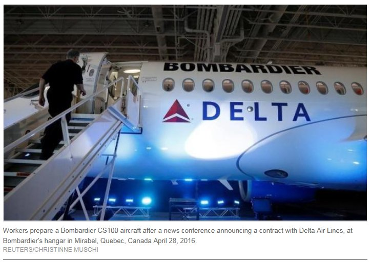 ICAO climatechange efforts influenced @Delta's @bombardierjets deal