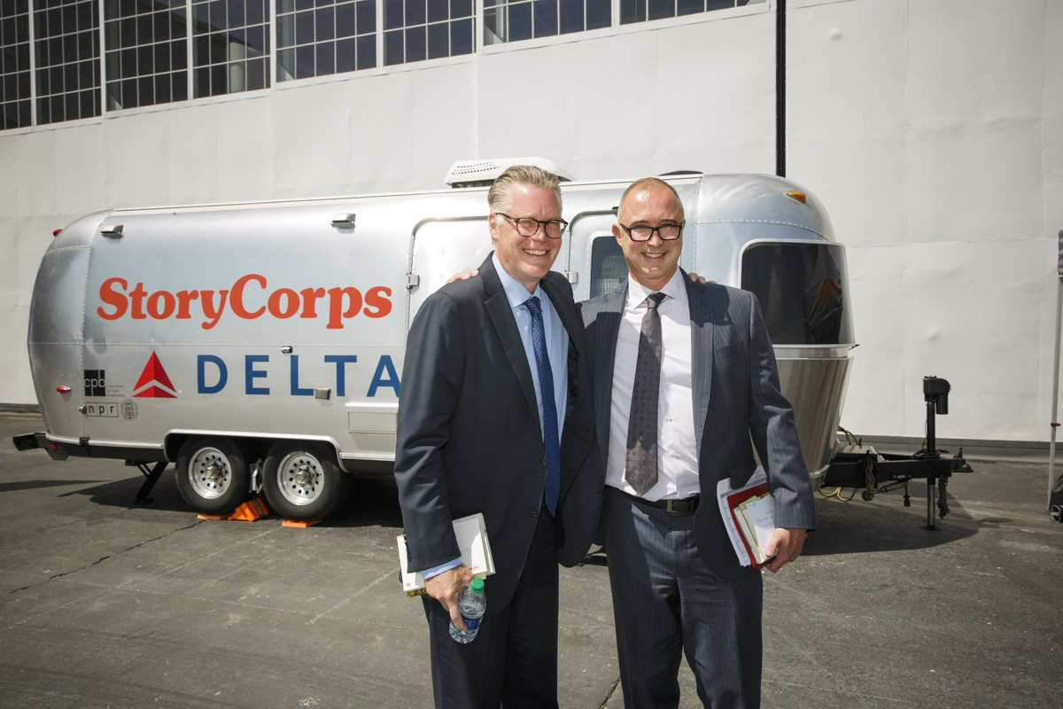 CEO & President discuss 'relighting the light' of @Delta.