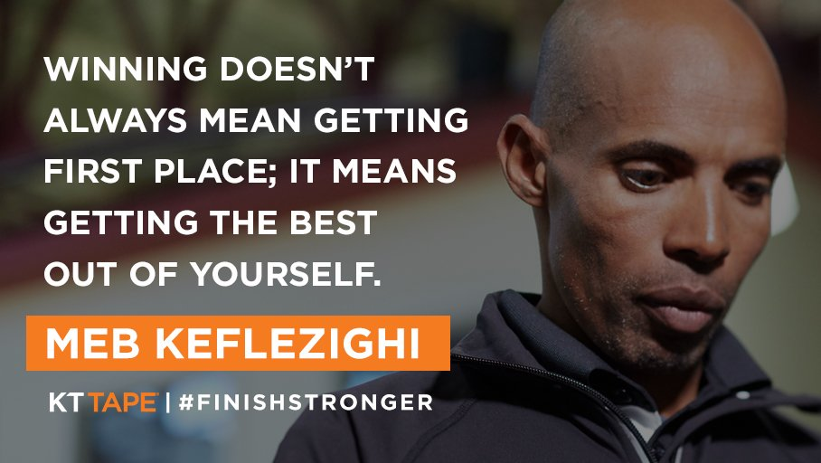 Take it from @RunMeb—sometimes first place isn't everything #MondayMotivation https://t.co/aH93ovPtoV