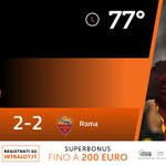 77° #GenoaRoma 2-2: Goal di Francesco Totti!!! Tutte le quote su Intralot https://t.co/xsejSN06Yz https://t.co/FgSSIxInlt