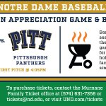 Irish Fans: We would like to invite you out to our Fan Appreciation Game & BBQ this Saturday!  🍔🍔  🍀⚾️  MORE INFO👇 https://t.co/ZKIQMt2MuX