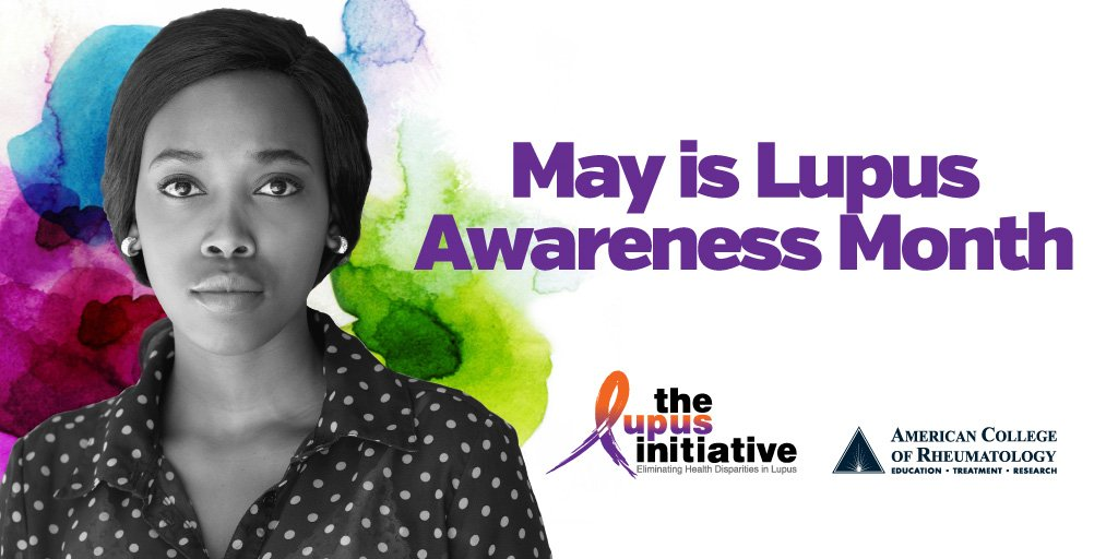 May is #Lupus Awareness Month! Visit LupusInitiative at https://t.co/RBfofHntpj to learn more & raise awareness. https://t.co/xDsNR8kT6p