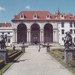 We just love Wallenstein gardens frontage in the #springtime #Prague #visitCZ https://t.co/JVwdDRpcGa