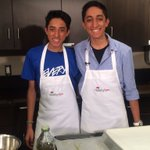 We have the founders of Every Child Now- Vishal and Ishan Vijay in the kitchen with us https://t.co/BCQFKnjj7B