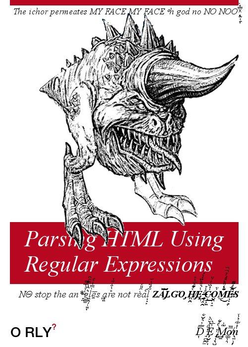 New book from O'Reilly on RegEx (GREP) for HTML #eprdctn https://t.co/KYevmgvXCC