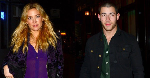 Kate Hudson and Nick Jonas got super flirty on date night... Jealous?