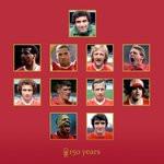 As revealed at this evenings 150th anniversary gala dinner, heres #NFFCs greatest 11 in full. https://t.co/G7gR8RCfwH