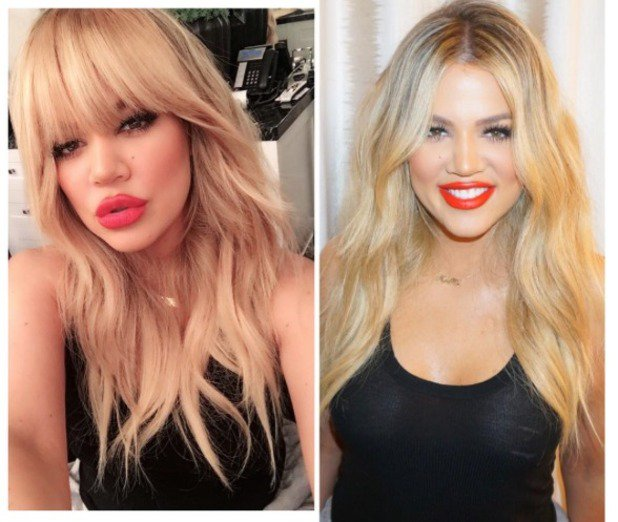 What do you think of Khloe Kardashian's bangs?!