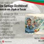 En el CCXII Aniversario de su Natalicio, recordamos al Coronel Felipe Santiago Xicohténcatl. ¡Orgullo Tlaxcalteca! https://t.co/rxYuTIfxak