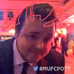 Hes come all the way from The Wall for tonights awards. Nice one, John Bradley! #MUFCPOTY #GameOfThrones https://t.co/e3dSsEMpFD