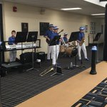 "Great showing and even a little music by ""The Blue Standard"" at the AP Art exhibit. Go Vikings!!! https://t.co/q4WMH0Smnx"