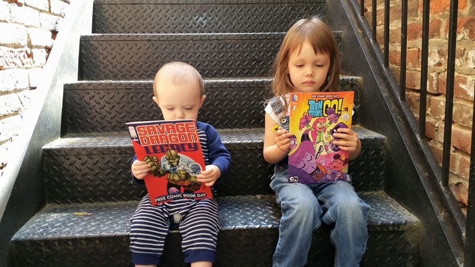 Who's ready for @Freecomicbook Day? These two! https://t.co/3WYow8Ai9P