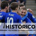 FINAL | Chelsea 2-2 Tottenham. ¡¡El Leicester City, campeón de la #Premier League!! https://t.co/n3Ku3lz0GC https://t.co/NJCDpKZNn8