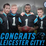 Congrats to our friends at @LCFC for clinching the English Premier League title! #KeepPounding https://t.co/hSSRJJrc5q