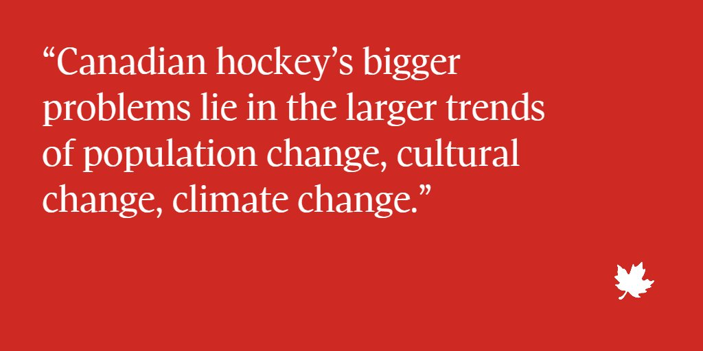 Why 'We the North' is no longer about hockey @GlobeDebate by @LMartinOttawa