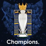JUST IN: Leicester City are the new @premierleague champs after rivals #Spurs could only draw at #Chelsea (????: @LCFC) https://t.co/cLlmDoJ4MO