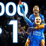 Leicester City had preseason 5000-1 odds to win Premier League. To compare, 76ers were 400-1 to win 2016 NBA title. https://t.co/Ll8qsXq3fF