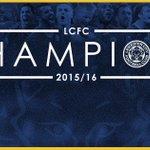 Sprookjes bestaan echt: @LCFC IS KAMPIOEN VAN ENGELAND!!! #voetbalinside https://t.co/zOGPkrCBp9