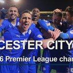 Underdog Leicester crowned Premier League champion as Chelsea holds Tottenham https://t.co/RiZX0KjabF #LCFC #CHETOT https://t.co/0L6Nkx2jgo