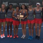The ladies of @UHSgirlstennis are REGIONAL CHAMPS!!! https://t.co/YDs6mZoQNi
