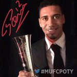Congratulations, @ChrisSmalling! This seasons Players Player of the Year. #MUFCPOTY https://t.co/dnqH6Jdt4s
