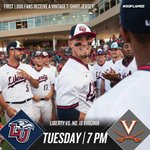 The #FlameTrain battles No. 18 Virginia Tuesday at 7 PM! 🔥⚾️ Plus, enjoy $1 corn dogs and vintage t-shirt jerseys! https://t.co/DkYE5rLcmN