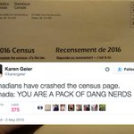 Canadians are so excited about the long-form census they crashed the governments website: https://t.co/BOUxUhYOtc https://t.co/4PyknWEu2a