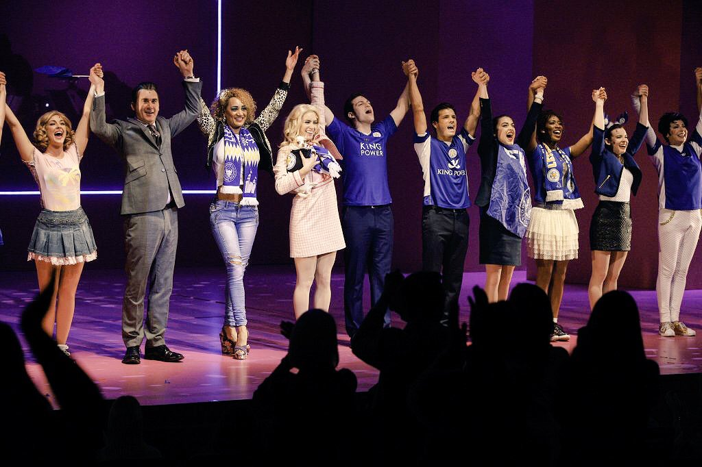 A huge standing ovation for @LCFC from all the team @CurveLeicester! A great end to the fairytale #backingtheblues https://t.co/WpRMepYjv7