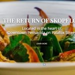Check out the new Skopelos Website! @skopelosnew  Theyre back!  Amazing food! Great people! https://t.co/EDUwPAqT1y https://t.co/zWPv3UT9Q4