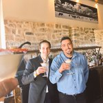 Jakub & Marcos delivering on the promise! Highly recommend the @FSSantaFe #margarita #MargaritaTrail #simplysantafe https://t.co/fOzCk2QVp2