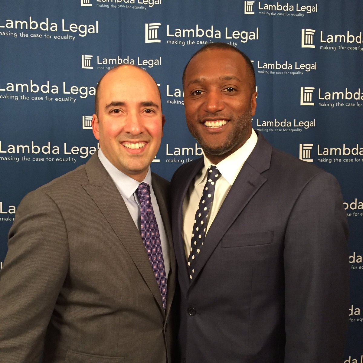National awards dinner. #equality #LGBT @LambdaLegal https://t.co/p1R35yZix6